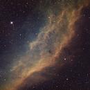 California nebula in SHO - NGC 1499,                                Piet Vanneste