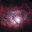 M8 Lagoon Nebula,                                Mike Miller