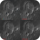 Crater Gassendi - a comparison of images with different wavelengths,                                Niall MacNeill