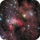 SH2-155 (The Cave Nebula),                                Enrique Arce