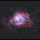 Lagoon Nebula,                                Mike