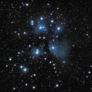 First light on M45,                                Tsepo
