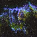 Eastern Veil Nebula-  Straight SHO,                                Chris R White