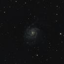 M101 - The Pinwheel Galaxy,                                Mattes