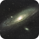 M31 - Andromeda Galaxy (100 Megapixel),                                Willem Jan Drijfhout