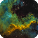 "The ""Wall"" of NGC 7000,                                Lorenzo Taltavull Menéndez"