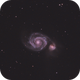 M51 - crop,                                mewmartigan