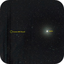 Comète 88P Howell GC (comète + étoiles) annotée,                                Corine Yahia (RIGEL33)
