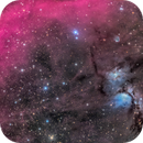 Messier 78 with Barnard's Loop,                                Miles Zhou