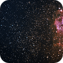 Trifid and Lagoon Nebula,                                humanoids