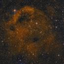 SH2-173 - The Phantom Mask Nebula (Bicolor RGB),                                Frank Breslawski