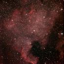 NGC7000 - North America Nebula,                                astroisk