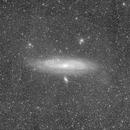 M31 wide - Luminance only,                                Jonas Illner