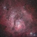 Lagoon Nebula,                                RCompassi