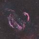Veil Nebula Complex in Cygnus: BiColor,                                Jonas Illner