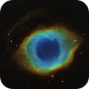 Helix Nebula - Hubble Palette,                                Rodrigo Andolfato