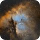 Closer look at NGC 281 in SHO,                                Guillermo Gonzalez