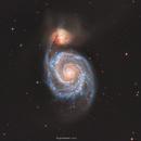 M51 LRGB,                                John