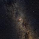 Carina and surrounding,                                AstroTanja