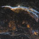 Western Veil Ngc 6960 HST Palette,                                John Dwyer (jaddbd)