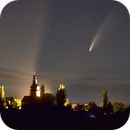 Comet NEOWISE over the Moated Castle in Gommern (Germany),                                Marcel Nowaczyk