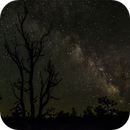 Panorama Milky Way at Devils Orchard Craters of the Moon N.M.,                                Gary Leavitt