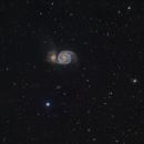 M51 LRGB,                                Steve Loveridge