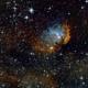 Tulip Nebula,                                Rich