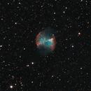 Messier 27, the Dumbbell Nebula,                                Evelyn Decker