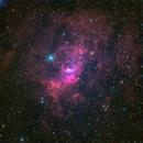 Bubble Nebula (NGC 7635) in HRGB @DSW,                                Miles Zhou