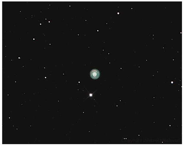 eskimo nebula,                                lambrechtssteven