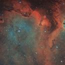 IC1848 SHO and HOO, T150 f/5  /  ATIK ONE  /  AZEQ6,                                Pulsar59
