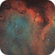 IC1848 SHO and HOO, T150 f/5  /  ATIK ONE  /  AZEQ6,                                Pulsar59
