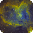 Heart Nebula in SHO,                                Kyle Pickett