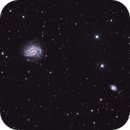NGC4535 and his friends,                                Martin Dufour