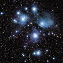 M45, The Pleaides,                                Scott