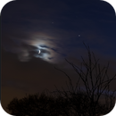 Moon, Saturn and Jupiter,                                Dominique Callant