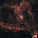 The Hearth nebula in HaRGB,                                Alessandro Micco