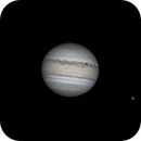 Jupiter at June 29th 2019 at about 23.00 German time in 105/1000 resize 120%,                                Niklo