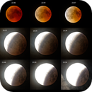 My first lunar eclipse session - 20180727,                                MicRaWi