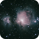 M42 Orion Nebula and Running Man,                                Rod Van Meter