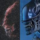 NGC 6992 vs alien :),                                astromat89