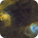 IC405 & IC410 in SHO • Flaming Tadpoles,                                Douglas J Struble