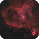 The Heart Nebula Ha Lum_HaR_OiiiG_OiiiB,                                Dave Boddington