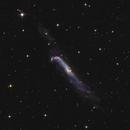 The Hockey Stick Galaxy  - NGC4656 in Halpha and LRGB,                                Arnaud Peel