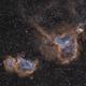 IC1805 - IC1848 - le Coeur et l'âme,                                ZlochTeamAstro