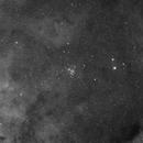 Jewel Box Star Cluster in Hydrogen Alpha 300 min,                                David Nguyen