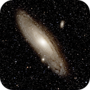 M31 Andromeda Galaxy,                                Steve