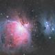Orion Nebula & Running Man Nebula,                                ishan_mair