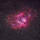 M8 - The Lagoon Nebula,                                greenbbs